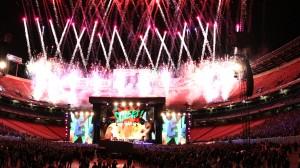 Stadium Pyrotechnics